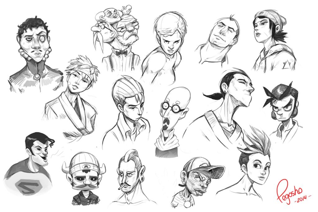And even more sketchez by pegosho