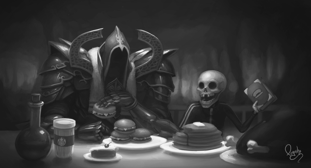 Reaper of Hamburgers by pegosho