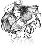 gaiaonline commish: Cordelia by unsolvedenigma