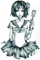 Sailor Mercury by unsolvedenigma