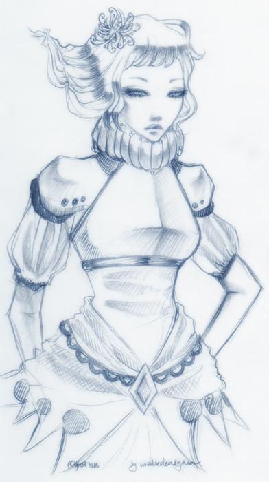 sketch - day 27 by unsolvedenigma