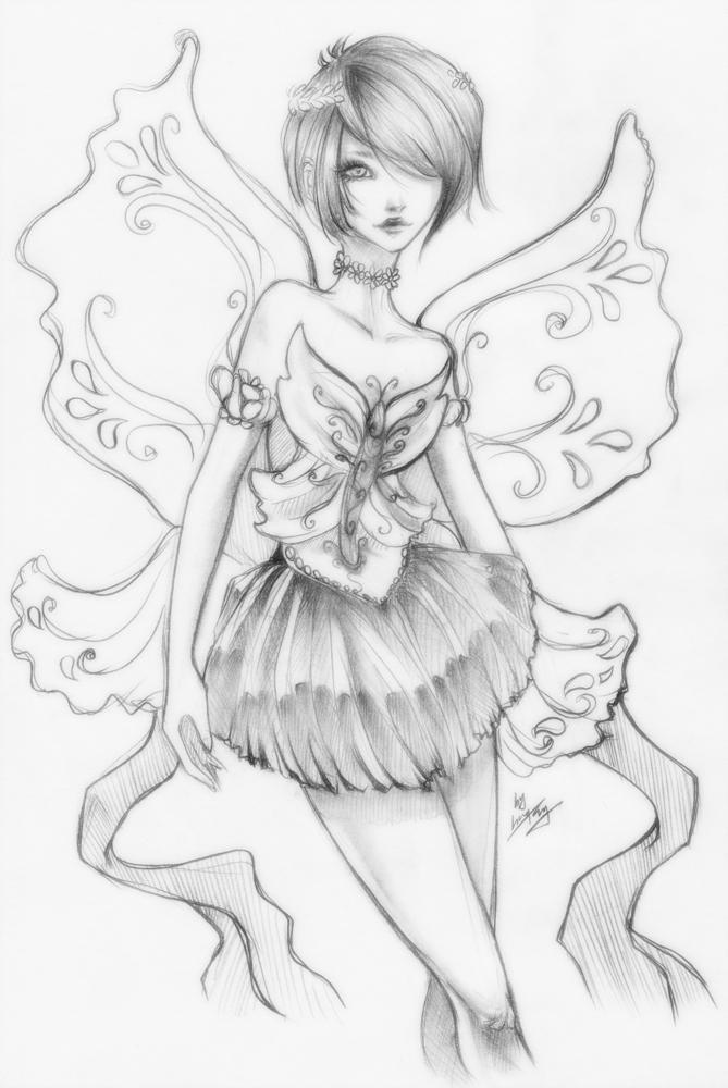 sketch - day 170 by unsolvedenigma