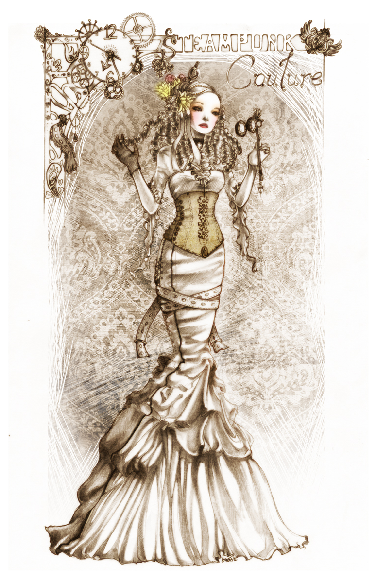 steampunk couture - 324 by unsolvedenigma