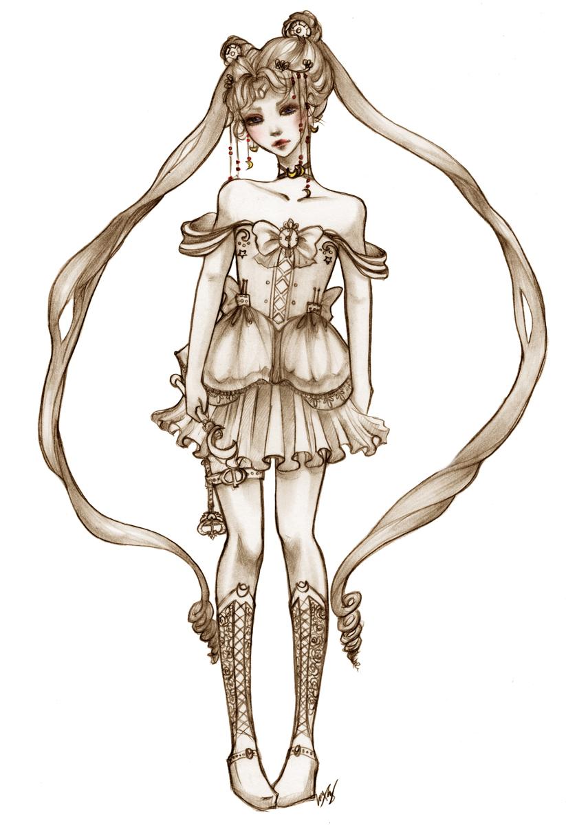 Sailormoon Redesign by unsolvedenigma