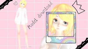 TDA Rin Kagamine Sleep Model dl
