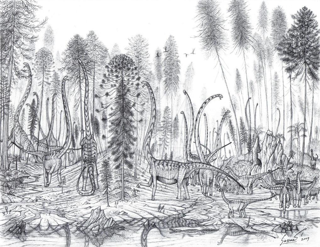 Dragons of Dashanpu Quarry by Paleo-King