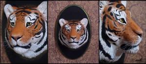 :.Tiger portrait.: