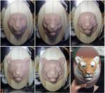 :.Tiger portrait - WIPS.: