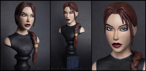 :.Lara Croft - The angel of darkness.: by XPantherArtX