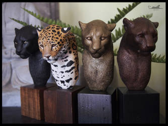 :.Jaguar - Jungle spirit.: by XPantherArtX