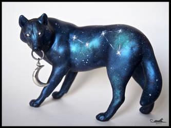 :.Galaxy Wolf - Aquila.: by XPantherArtX