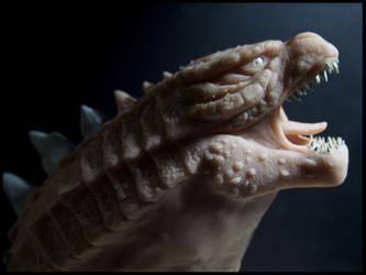 :. Godzilla - WIP .: by XPantherArtX