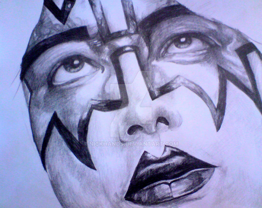 Ace Frehley by nickhands