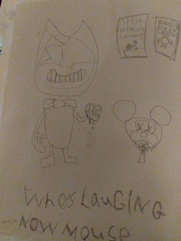 who's laughing now mouse by stolenmemesclub