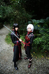 Yu Kanda and Allen Walker