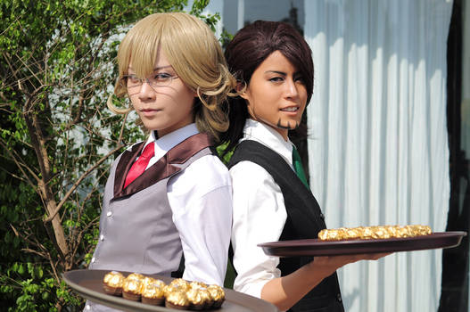 Tiger and Bunny Cafe: the Waiters