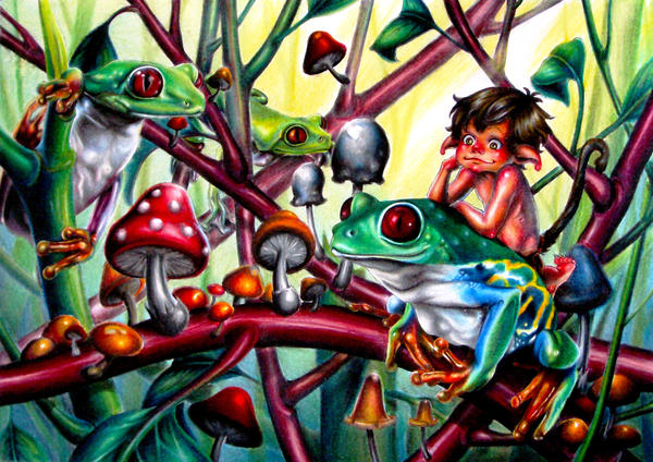 frogforest by yuu277