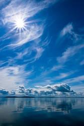 Sun Rays Reflection by sapegin