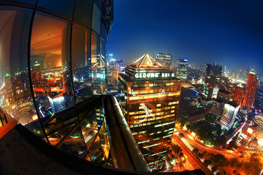 color of jakarta by dhikagraph