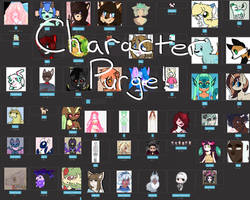 Character Purge (Open!)