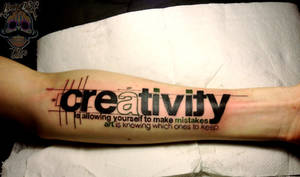 Creativity Tattoo by Kairy-Ma