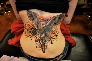 Owl Tattoo by Kairy-Ma