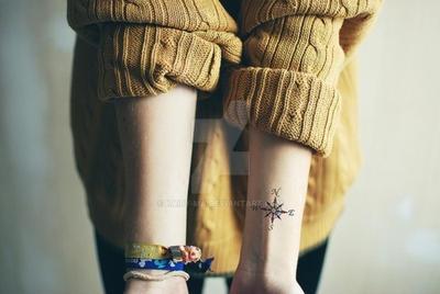 Compass Tattoo by Kairy-Ma