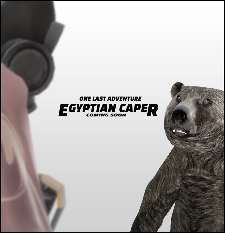 TF2O - The Egyptian Caper poster by usaokay