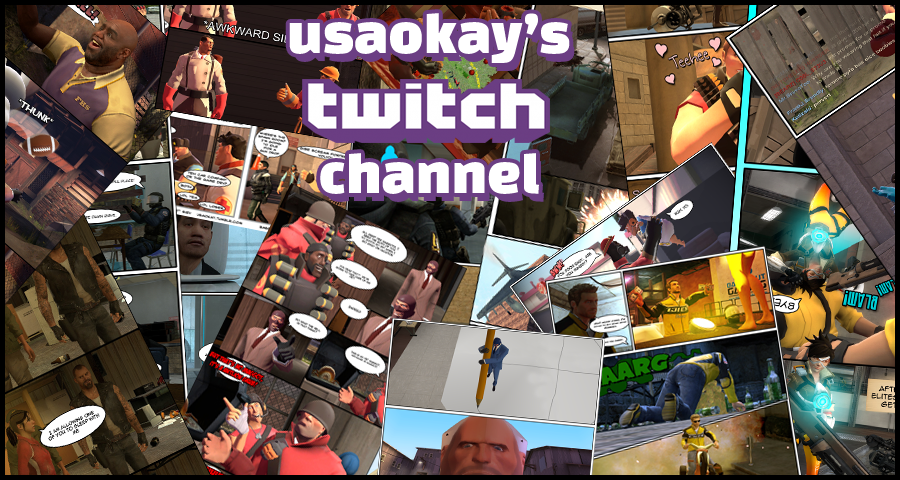 Twitch Channel by usaokay