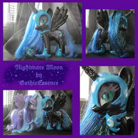 Nightmare Moon Custom by GothicEssence