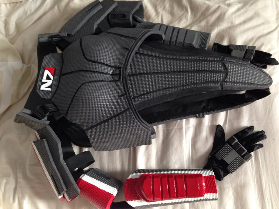 N7 Femshep Armor by GothicEssence