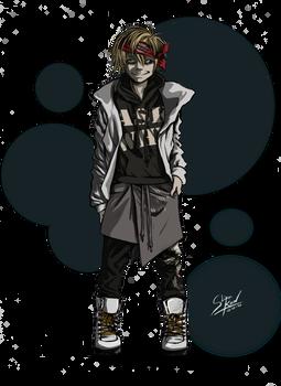 Justin character design ref