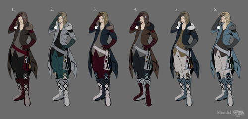 Cabinetstudios Mendel - Concepts (color schemes) by ShiroiKrow