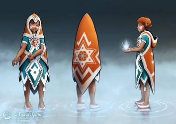 Aradhana Character Design by EvelineDaw