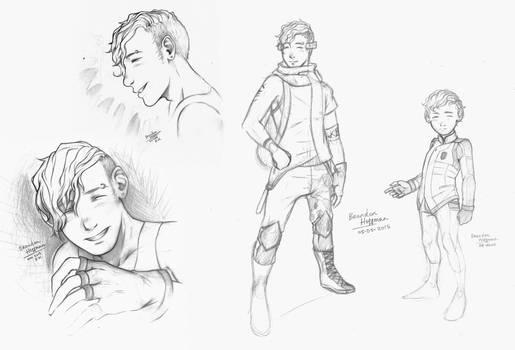 Brandon Hoffman Sketches