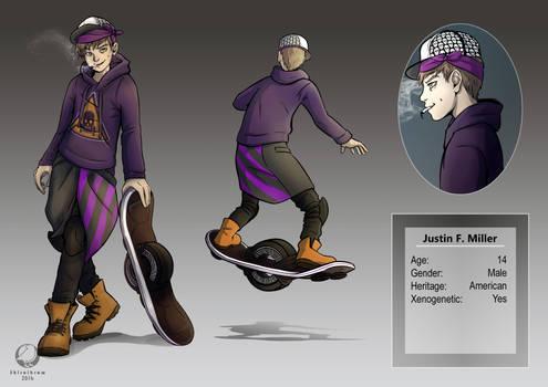 Justin Character Design