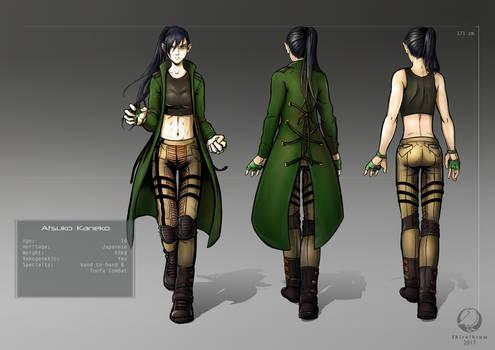 Atsuko Character Design