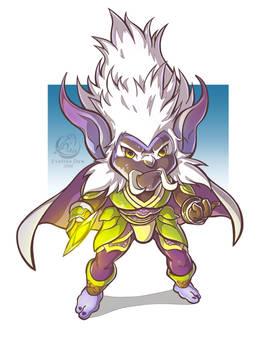 Commission: WoW Chibi Troll