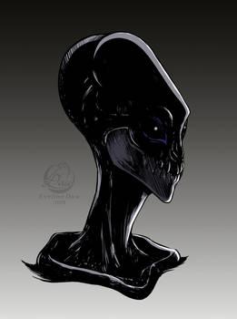 Alien Head Concept