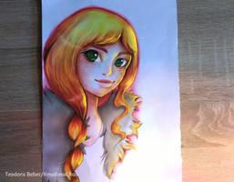 Golden Soul - Fictional Character by KmaKmaChau