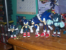 The History of Sonic Figures by piplup-fan-77