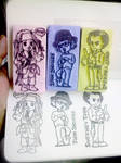 Johnny chibi Stamps