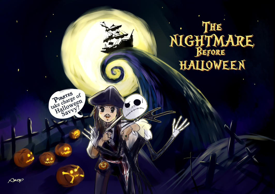 nightmare before halloween by amoykid - Halloween Nightmare