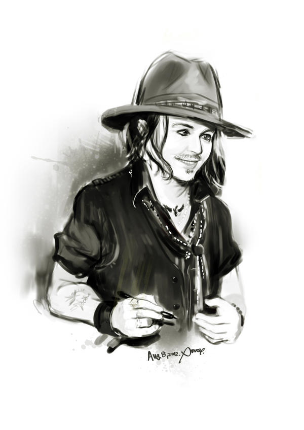 2012-8-8 Johnny by amoykid