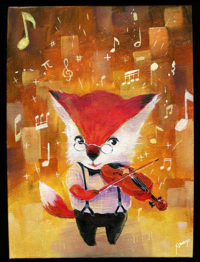 2014-10-7 Fox by amoykid