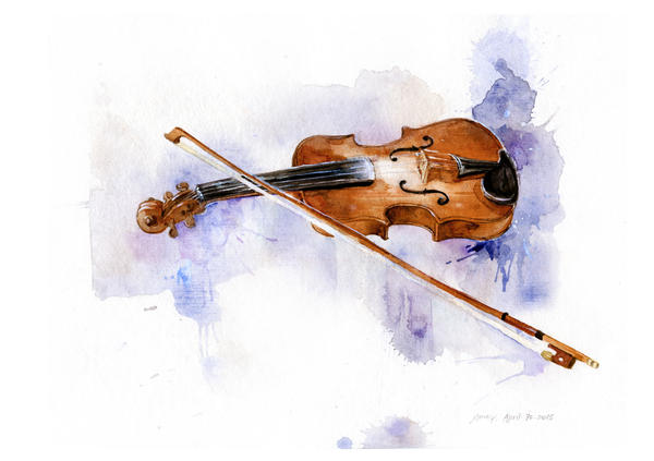 2015-4-30-violin by amoykid