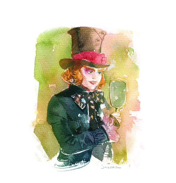 2016-1-12 New Mad Hatter by amoykid