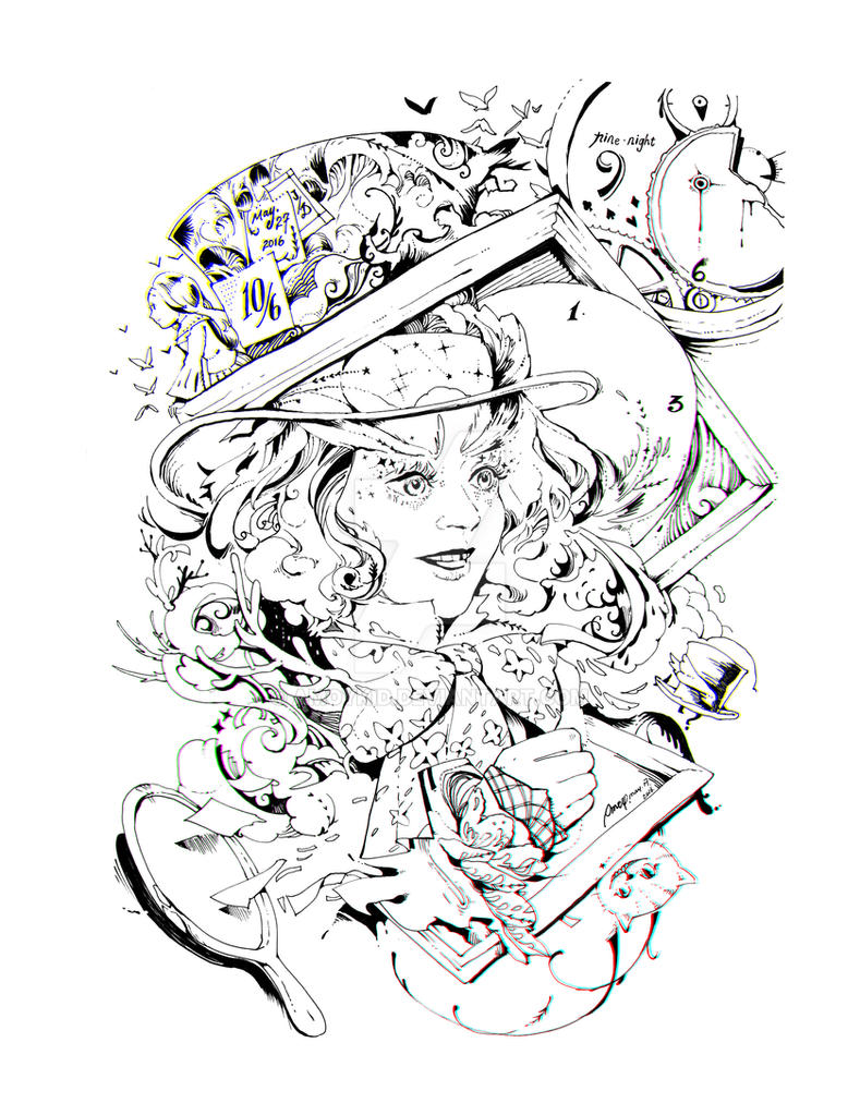 2016-5-18 Mad Hatter 2016 by amoykid