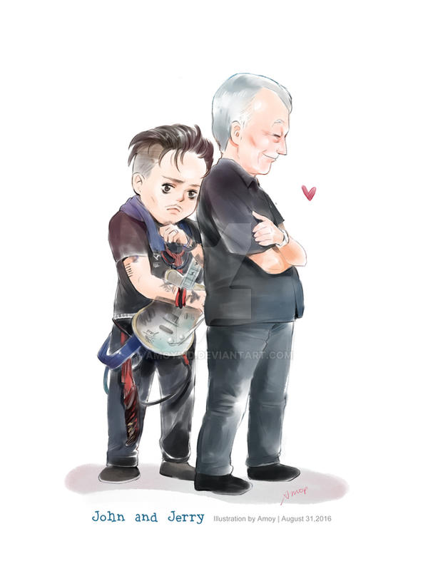 2016-8-31 John and Jerry by amoykid