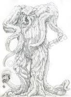 Tendril of the Inhumanoids by ryn0saur